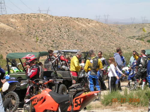 Round two of the 2006 poker run series